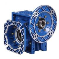 Best Single Stage RV Reducer Worm Gearbox with blue or cuotomized coulor in cast iron wholesale