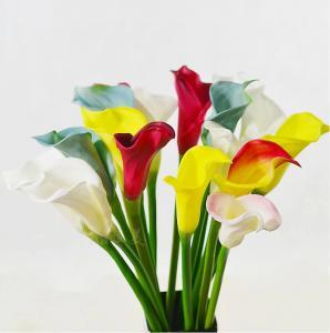 China home decor pu material calla lily artificial calla lily on sale