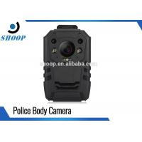 Best Digital Video Security Body Worn Police Cameras , Night Vision Body Camera With WiFi GPS wholesale
