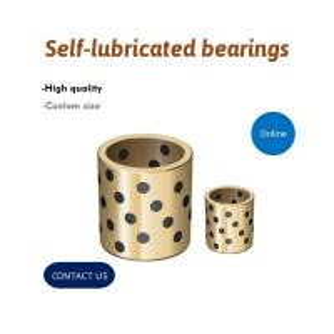 Best Bronze Cast Alloys Self Lubricating Bearings Built In Graphite Pellet wholesale