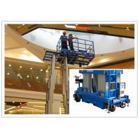 Aerial Vertical Mast Lift 10 Meter 480 kg Capacity Four Mast For Auto Stations