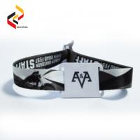 Buy cheap Waterproof 13.56MHz NFC NTAG213 bracelet RFID fabric wristbands from wholesalers