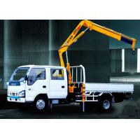 Buy cheap XCMG Hydraulic Arm Knuckle Boom Truck Mounted Crane With CE Certification product