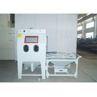 China Turntable Dry Sand Blast Cabinet , Abrasive Media Blast Cabinet For Large Mold on sale
