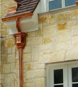 """Best Semi-circle Copper Rain Gutter / Rain Gutters Downspouts 3"""" Round wholesale"""