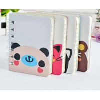 China Wholesale Custom Cute Cartoon Printed Paper Cover Spiral Binder Notebook on sale