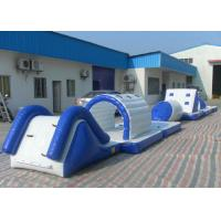 Best Eco Friendly Inflatable Water Toys Tear Resistant Bouncy Obstacle Course wholesale