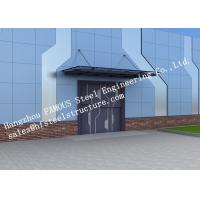 Best Automatic Glass Sectional Industrial Garage Doors Steel Buildings Kits Superior Weather Resistance wholesale