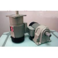 Best High Efficiency Foot Mounted Helical Geared Motor With Brake / Casting Iron wholesale