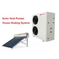 China Wireless controller Hydronic Heat Pump Air to Water work with Solar water heaters on sale