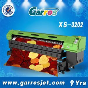 Best Garros 3.2m epson Dx5 head / 1440dpi eco solvent printing machine wholesale