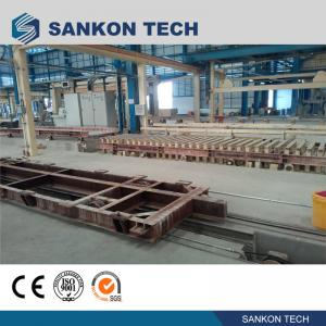 Best High Efficient Autoclaved Aerated Concrete Production Line - W600mm Ferry Cart AAC Machine Overturn Table wholesale
