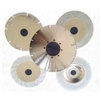 """Best 4""""-16"""" Electroplated Diamond Saw Blades For Glass / Tile / Marble / Stone Cutting wholesale"""