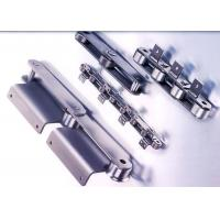 China Stainless Steel Double Pitch Roller Chain Machined With Custom Attachments on sale