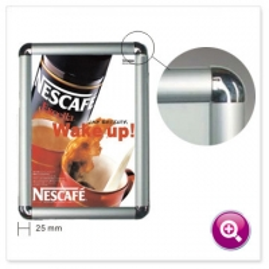 Best Snap Frame Poster Holder Clip Photo 0.7mm Aluminium Frame Profile wholesale