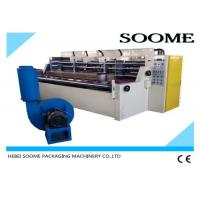 China Vacuum Suction Cardboard Cutting And Creasing Machine 3000mm Size 4-7.5KW Power on sale