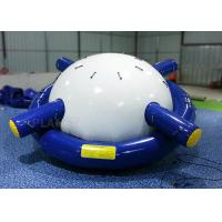 China Lake Sea Inflatable Water Games Saturn Rocker PVC 0.9 Mm Tarpaulin Material on sale