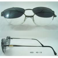 Best Classic Black Color Eyeglass Frames With Clip On Sunglasses , Frames For Boys wholesale