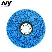 4 Inch Clean And Strip Disc , Paint Stripping Wheel For Wood Fiberglass Backing