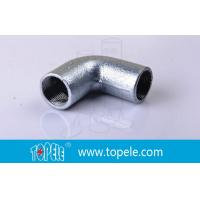 Best BS4568 Conduit Fittings 25mm  Malleable Iron Solid Elbow , 90 Degree Pipe Bent wholesale