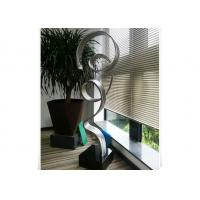 Best Custom Size Stainless Steel Outdoor Sculpture Abstract Metal Art Home Decoration wholesale