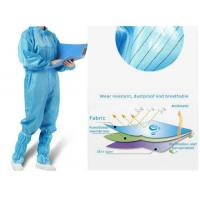 Best Antivirus Disposable Medical Protective Clothing , Medical Protective Coverall wholesale