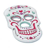 Best Customized Sugar Skull Inflatable Swimming Pool Lounge Float wholesale