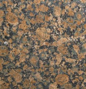Best Baltic Brown Granite Slab Countertop , granite bathroom vanity tops wholesale