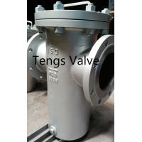 China Simplex Basket Strainer 150#, Carbon Steel, Stainless Steel Flanged Basket Strainer / Filter Class150LB on sale