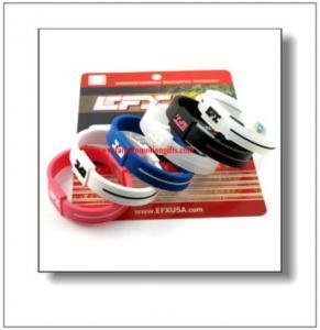 Best Energy Silicone Efx Bracelets wholesale
