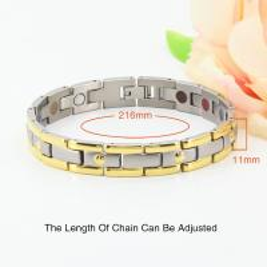 Best Full Magnets Balance Power Tungsten Bracelet for Body Health,Energy element bracelet wholesale