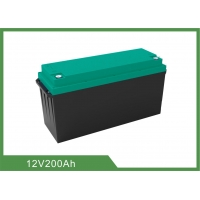 Best 1kHz AC 2.56KWh 250A Discharge LiFePO4 RV Battery 12V200Ah wholesale