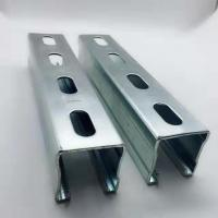 Best Hot Dipped Galvanized Steel Unistrut Channel Mounting Brackets / Supporting System wholesale