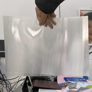 Best 2021Hot sale 3D lenticular sheet clear PET Lenticular 75 lpi lens sheet 3D flip lenticular lens sheet wholesale