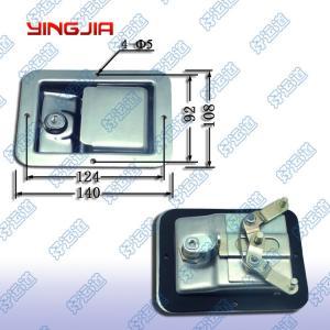 China 03100  Van trailer trucks door handle latch paddle lock toolbox latch on sale