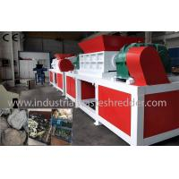 Buy cheap Plastic Lump Industrial Waste Shredder Double Shaft Low Energy Consumption from wholesalers
