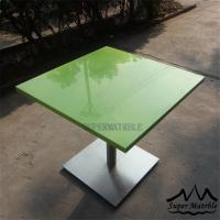 Best 60x60-cm-green-composite-marble-coffee-table wholesale