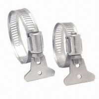 China American and German Style Shrimp Tail Hose Clamps, Customized Specifications are Accepted on sale