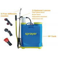 China Agricultural manual Battery Operated Knapsack Sprayer16L , knapsack pressure sprayer on sale