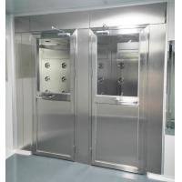 Cheap Air Shower for Persons and materials with 4 doors controlled by PLC and touch screen for sale