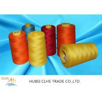Best Good Fastness Spun Poly Thread 5000 Meters , Multi Color Spun Polyester Sewing Thread wholesale