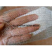 China Multi Filament Stainless Steel Knitted Mesh Demiter Pad For Filter Bright Silver Color on sale