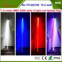 Buy cheap 16.2w 5 inch LED sand beach dunes flag for ATV,UTV,dune buggies and off-road from wholesalers