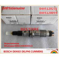 Best BOSCH Genuine Common rail injector 0445120059, 0445120231, 4945969, 3976372, 5263262 wholesale