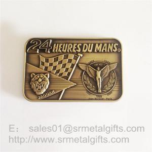 Best Custom made Antique brass metal emblem plate sign plaques, zinc alloy, wholesale