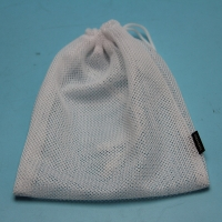 China Women Bra Drawstring Hot Stamping Logo Mesh Laundry Wash Bags on sale