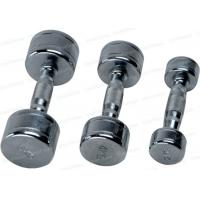 China Chromed Steel Fixed Dumbbells Variable Weight  Women Mens Workout on sale