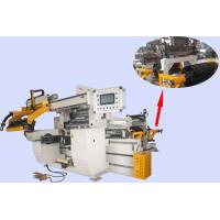 China Double Servo Motor Driven Reactor Auto Coil Winding Machine With Maximum Width 800mm Foil on sale