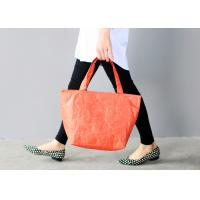 China Women ' S Tyvek Travel Tote Bags Water Resistant Light Weight For Shopping on sale
