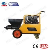 China Waterproof Mortar 4kw 2Mpa Cement Plastering Machine on sale